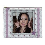 Kiss the Bride Extra Large Cosmetic Bag - Cosmetic Bag (XL)