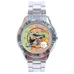 travel - Stainless Steel Analogue Watch