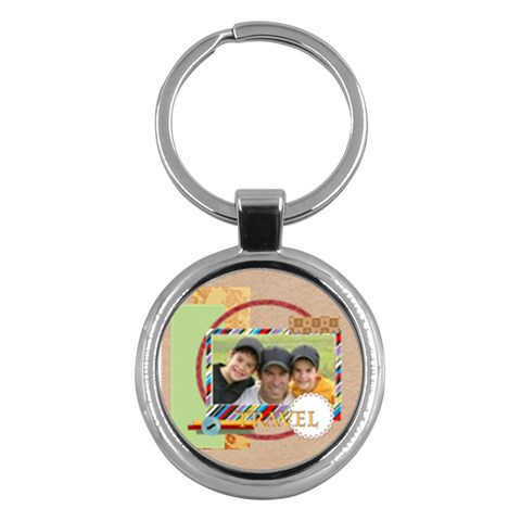 Travel By Joely   Key Chain (round)   Fc316lhz8qtj   Www Artscow Com Front