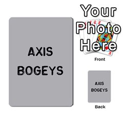 Bag The Hun Card   Axis By Agentbalzac   Multi Purpose Cards (rectangle)   Gh4cmvpa1kog   Www Artscow Com Front 1