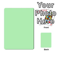 Bag The Hun Card   Axis By Agentbalzac   Multi Purpose Cards (rectangle)   Gh4cmvpa1kog   Www Artscow Com Front 52