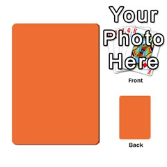 Bag The Hun Card   Axis By Agentbalzac   Multi Purpose Cards (rectangle)   Gh4cmvpa1kog   Www Artscow Com Frontback