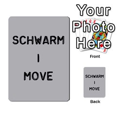 Bag The Hun Card   Axis By Agentbalzac   Multi Purpose Cards (rectangle)   Gh4cmvpa1kog   Www Artscow Com Front 2