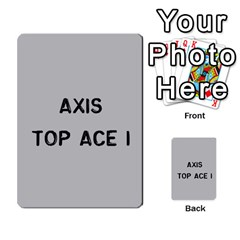 Bag The Hun Card   Axis By Agentbalzac   Multi Purpose Cards (rectangle)   Gh4cmvpa1kog   Www Artscow Com Front 14