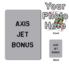 Bag The Hun Card   Axis By Agentbalzac   Multi Purpose Cards (rectangle)   Gh4cmvpa1kog   Www Artscow Com Front 18
