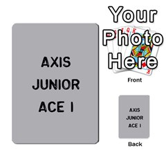 Bag The Hun Card   Axis By Agentbalzac   Multi Purpose Cards (rectangle)   Gh4cmvpa1kog   Www Artscow Com Front 19