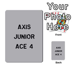 Bag The Hun Card   Axis By Agentbalzac   Multi Purpose Cards (rectangle)   Gh4cmvpa1kog   Www Artscow Com Front 22