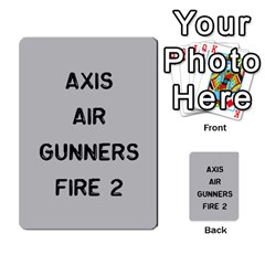 Bag The Hun Card   Axis By Agentbalzac   Multi Purpose Cards (rectangle)   Gh4cmvpa1kog   Www Artscow Com Front 25