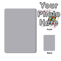 Bag The Hun Card   Axis By Agentbalzac   Multi Purpose Cards (rectangle)   Gh4cmvpa1kog   Www Artscow Com Front 36