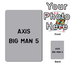 Bag The Hun Card   Axis By Agentbalzac   Multi Purpose Cards (rectangle)   Gh4cmvpa1kog   Www Artscow Com Front 44
