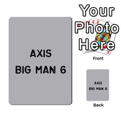 Bag The Hun Card   Axis By Agentbalzac   Multi Purpose Cards (rectangle)   Gh4cmvpa1kog   Www Artscow Com Front 45