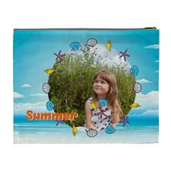 Summer By May   Cosmetic Bag (xl)   Brvj7hxktr0j   Www Artscow Com Back