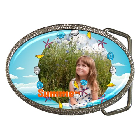 Summer By May   Belt Buckle   Sf4smfw2o40h   Www Artscow Com Front