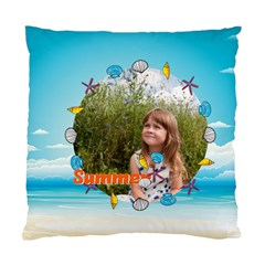 Summer By May   Standard Cushion Case (two Sides)   O9qhttum1ao2   Www Artscow Com Back