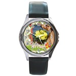 kids - Round Metal Watch