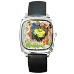kids - Square Metal Watch