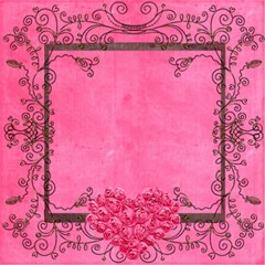 Deco Rosa 12 x 12 Scrapbook Pages by Catvinnat 12 x12 Scrapbook Page - 2
