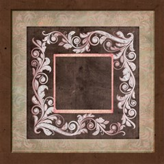 Deco rosa 8 x 8 Scrapbook Pages by Catvinnat 8 x8 Scrapbook Page - 3