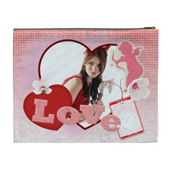 Love By Wood Johnson   Cosmetic Bag (xl)   Ef5hucm6iwds   Www Artscow Com Back