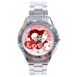 lover - Stainless Steel Analogue Men's Watch
