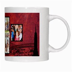 Nyc Travel   Coffee Mug By Lmrt   White Mug   7l9o2uwbons4   Www Artscow Com Right