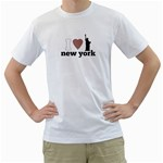 NYC T-Shirt - White T-Shirt