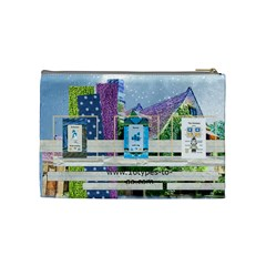 16 Types Tarot By Michelle Arpin   Cosmetic Bag (medium)   Ro7fjpjy288h   Www Artscow Com Back