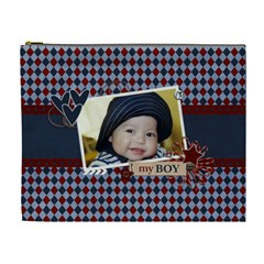 Xl   Cosmetic Bag   My Boy By Jennyl   Cosmetic Bag (xl)   Ahnm1n9p1sb6   Www Artscow Com Front