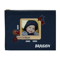 Xl   Cosmetic Bag   My Boy 3 By Jennyl   Cosmetic Bag (xl)   Frvqh4v9ywvp   Www Artscow Com Front