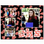 Here s to the Graduate -- Wall Art - Canvas 8  x 10