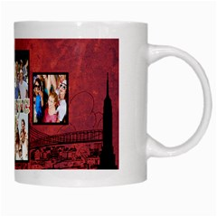 Nyc Travel   Coffee Mug By Lmrt   White Mug   T8j52op6crl6   Www Artscow Com Right