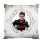 Silver Deco Cushion  cover single side - Standard Cushion Case (One Side)