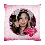 Kiss the Bride Wedding Cushion  cover single side - Standard Cushion Case (One Side)
