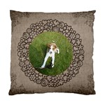 Rusty Puppy Cushion  cover single side - Standard Cushion Case (One Side)