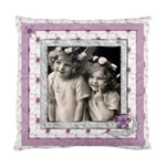 Angels  Floral Cushion  cover single side - Standard Cushion Case (One Side)
