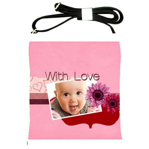 With Love By Joely   Shoulder Sling Bag   Mmu45fq6x6ky   Www Artscow Com Front