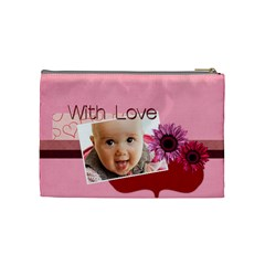 With Love By Joely   Cosmetic Bag (medium)   Nqafuqtmpqvd   Www Artscow Com Back