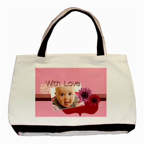 With Love By Joely   Basic Tote Bag   Meguxavmk4ph   Www Artscow Com Front