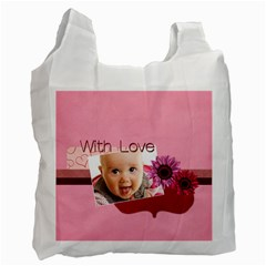 With Love By Joely   Recycle Bag (two Side)   Pqw9aqu050jo   Www Artscow Com Front