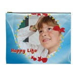 happy life - Cosmetic Bag (XL)