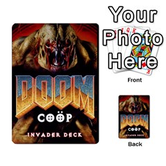 Doom Coop Invader By Ryszard Hermaszewski   Playing Cards 54 Designs   Lmps5pen5brq   Www Artscow Com Back
