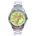 Nature life - Stainless Steel Analogue Watch