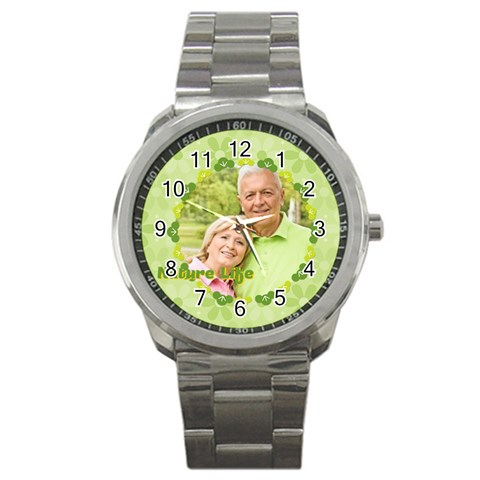Nature Life By May   Sport Metal Watch   Xzcrvrqzve54   Www Artscow Com Front