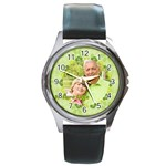 Nature life - Round Metal Watch