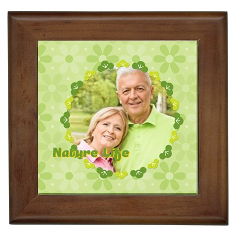 Nature Life By May   Framed Tile   Uxrkxdjsbcfa   Www Artscow Com Front