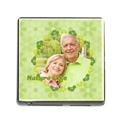 Nature Life By May   Memory Card Reader (square 5 Slot)   5vadq0o3syze   Www Artscow Com Front