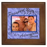 Paradise Framed Tile