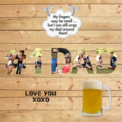 Love Number 1 Dad 3d Card By Lil    #1 Dad 3d Greeting Card (8x4)   Ixyj4xh38laq   Www Artscow Com Inside