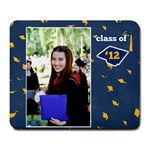 Graduation Mousepad 1 .. - Large Mousepad