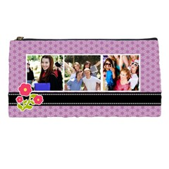 Purple Pencil Case By Lmrt Front